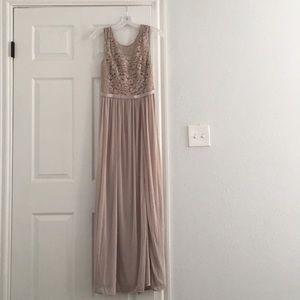 Size 6 David's Bridal Lace Bridesmaids Gown